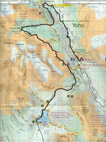 Yoho Map