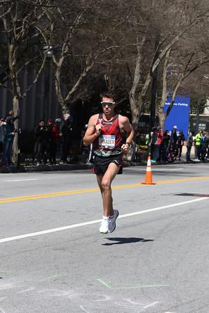 Men's 2nd Loop Heading Back - 2020 U.S. Olympic Marathon Trials