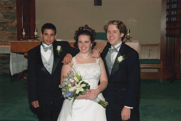 2003 - Becky Wedding
