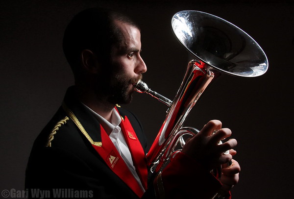 Urien Huws- Deniolen Brass Band Member