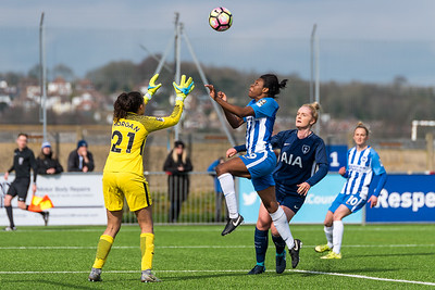 Brighton Ladies 2-0 Tottenham Ladies (£2 Single Downloads. £20 Gallery Download. Prints from £3.50)