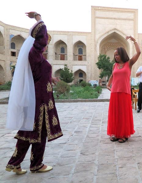 Kim Goodwin dancing - Serguei Oushakine