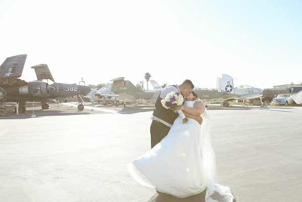 ROSIE + DANNY | PLANES OF FAME WEDDING