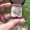 1.71ct Old Mine Cut Diamond Solitaire GIA K SI2 16