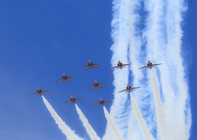 2014 Red Arrows @ Cosford