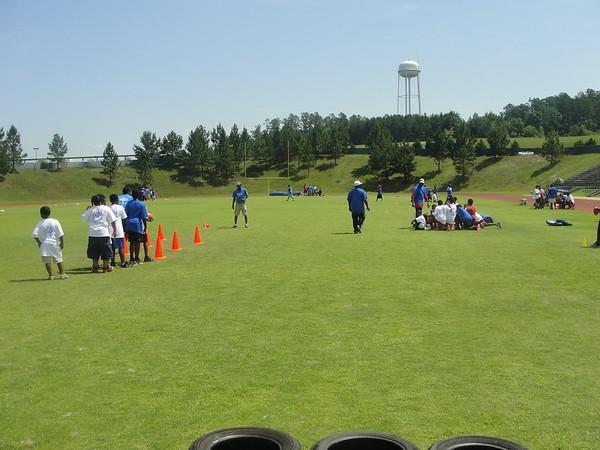 Earnest Byner football camp