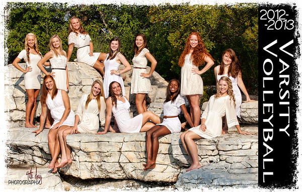 2012 Volleyball Group Portrait