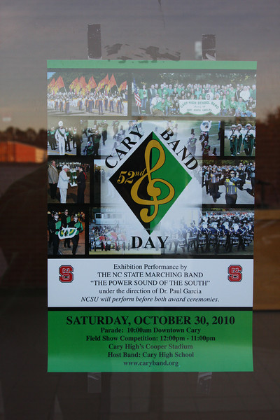 2010-10-30: Cary Band Day
