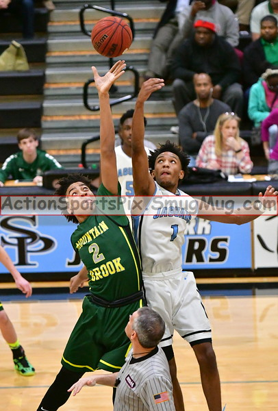 SP v  Mtn Brook II  Boy's Basketball 1-27-17