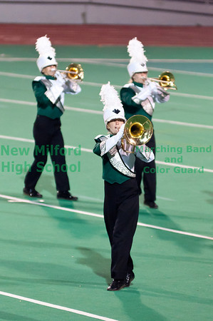 NMHS Band and Color Guard at USSBA Championships, November 5, 2011