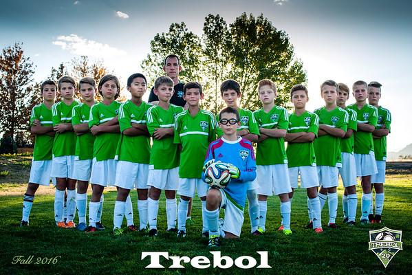 Trebol Soccer - White Team