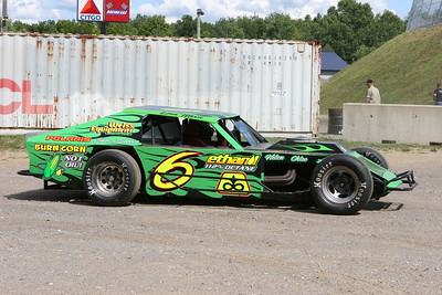 Dixie Cup Series 100, Dixie Motor Speedway, Birch Run, MI, July 13, 2007