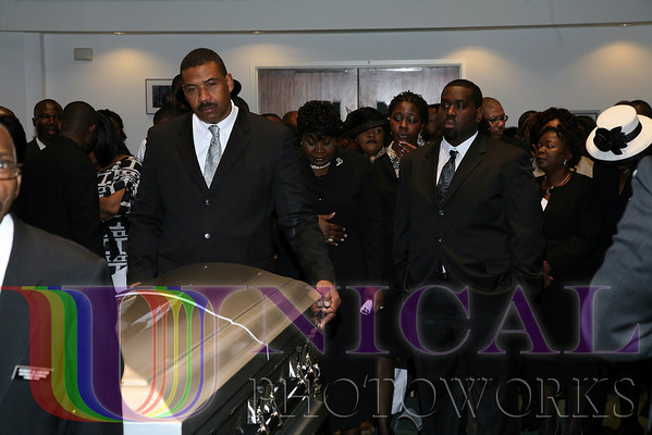 The Funeral Service, March 7, 2009 at 9:00AM
