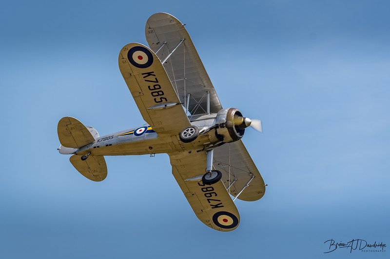 Gloster Gladiator - Shuttleworth Collection