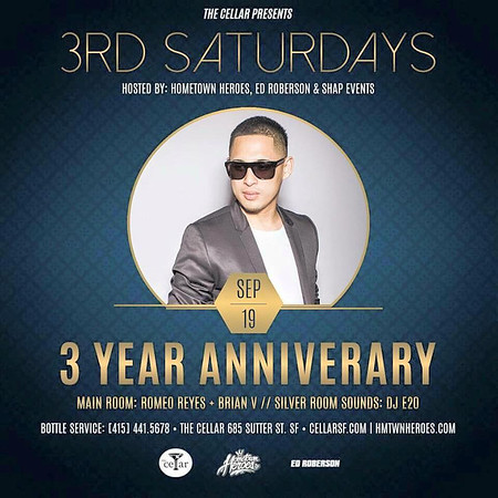 HTH & Ed Roberson Present 3rd Saturdays 9.19.15