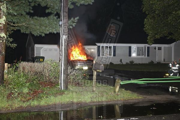 Centerville, Ma. Auto Fire 9/20/17