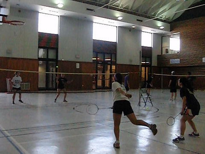 SMS Badminton 2011 Practice