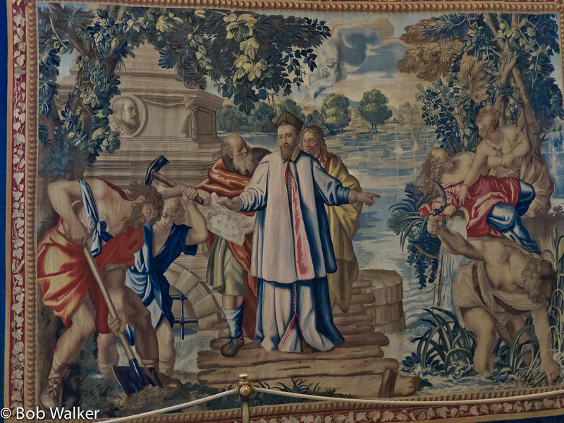Tapestry in the Vatican Museum