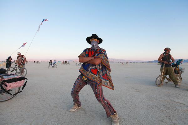 Mike Burning Man 2018