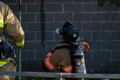 200blk Union Ave - Coatesville City - Garage Fire