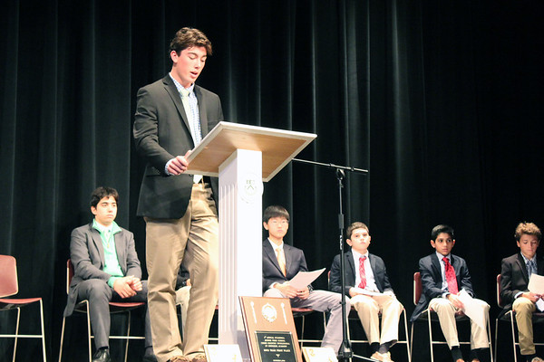 Fall Sports Recognition Assembly