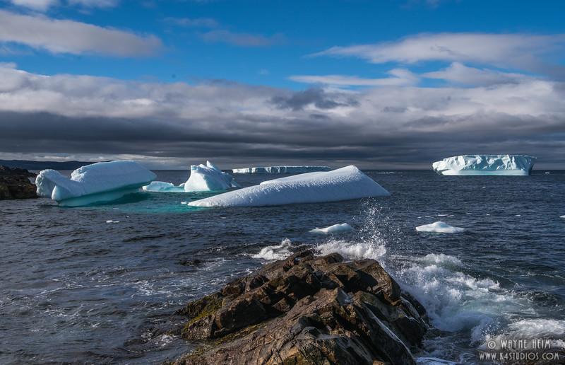 Icebergs 72c   Photography by Wayne Heim