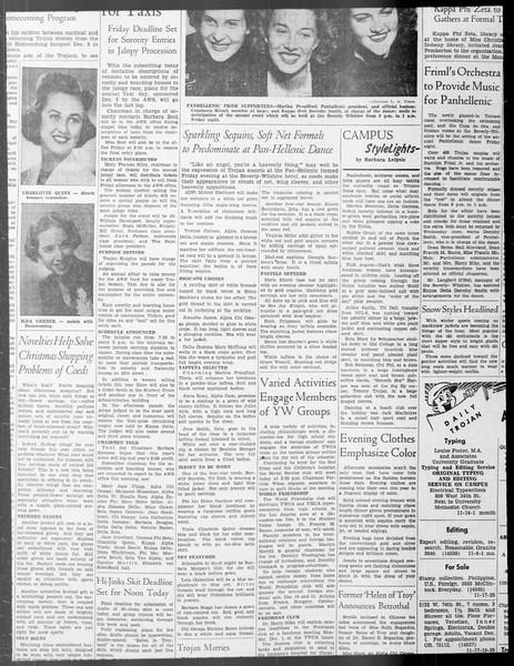 Daily Trojan, Vol. 33, No. 39, October 31, 1941