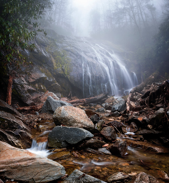 Foggy Glen Burney Falls