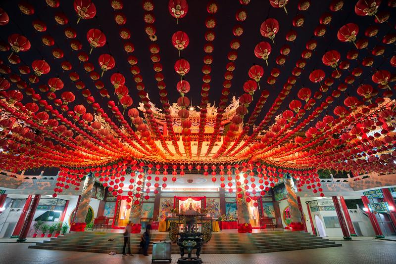 Chinese Lanterns in Kuala Lumpur