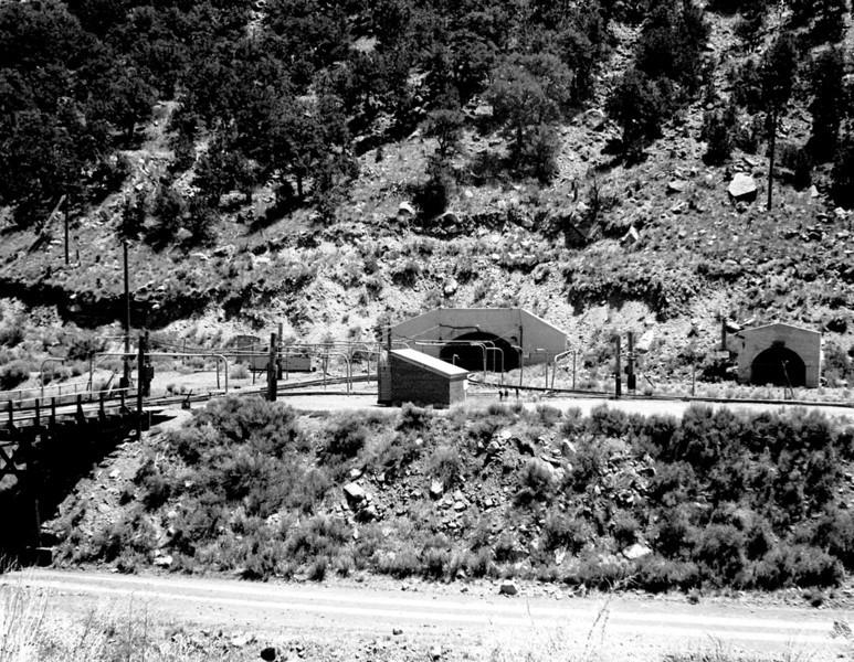 Geneva mine portals. (Don Butler Collection)