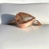 1.86ct Rustic Rose Cut Diamond Bezel Ring 0