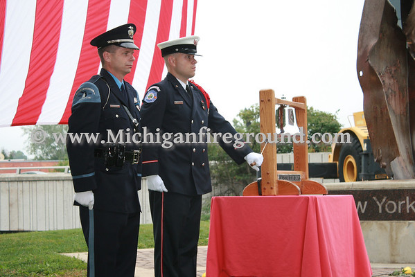 9/11/11 - Lansing 9/11 Memorial Ceremony