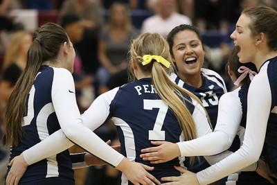 2016 Perry Girls Volleyball vs Hamilton 10-04-16
