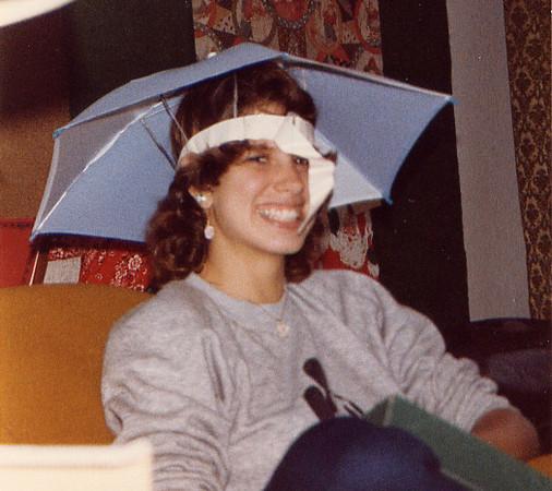 1983 Sharon umbrella hat gift