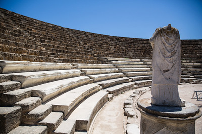 Salamis , Famagusta , Turkish Cyprus