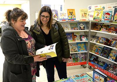 Scholastic book fair at LCCC
