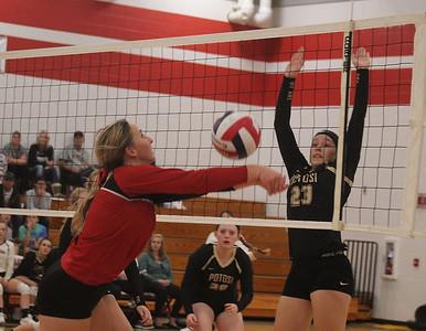 Potosi @ Highland Volleyball 10-2-18