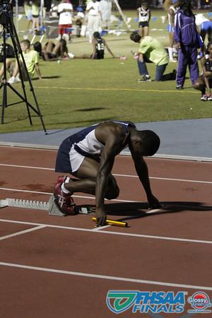 Class 3A - Running Event Finals - Boys 4X400m Relay - Section 1