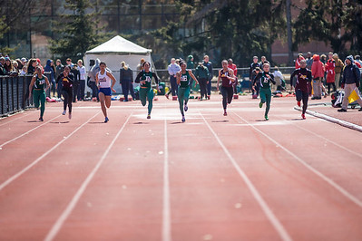 Women's 100 Meters - 2014 MSU Spartan Invite