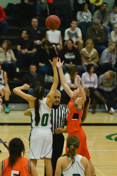 2011 Dixon Varsity Girls vs Woodland