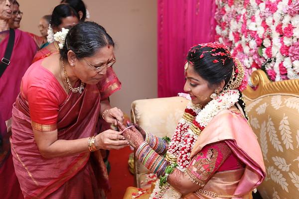 Lakshmipriya Seemantham Redthread