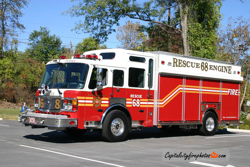 Fairview Township X-Rescue 68: 2006 American LaFrance Eagle 1500/750 (** sold to Slanesville, WV in January 2017 **)