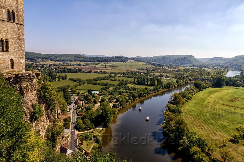 River Dordogne from Château de Beynac