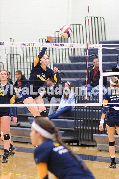 Girls Volleyball: 4A North Playoffs Fauquier vs Loudoun County 11.12.13 (Photos by Gary Sousa)