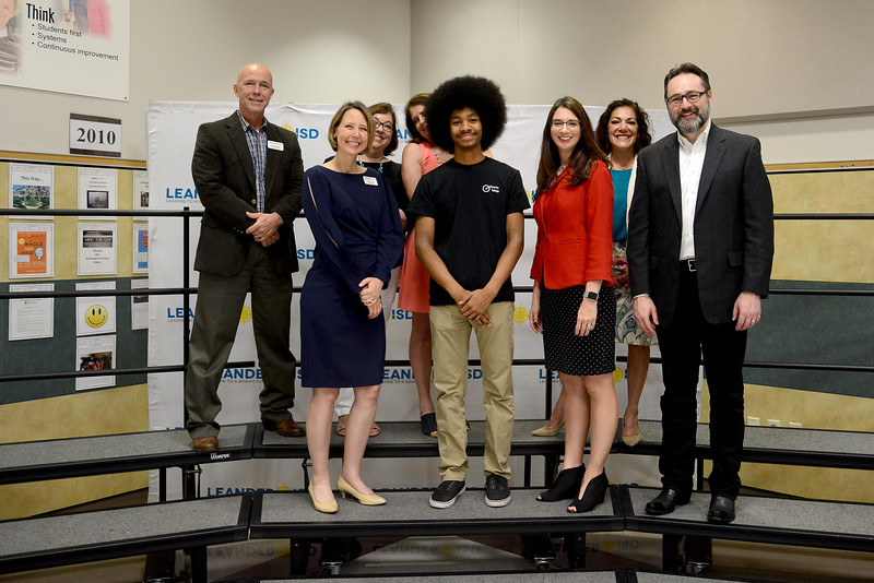 Vista Ridge High School senior Quincy Johnson, recognized for being one of 300 students nationwide to receive the Gates Scholarship.