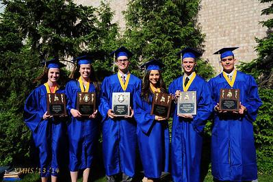 Graduation - Top Award Winners 6-1-14BroRoger&MrScalese