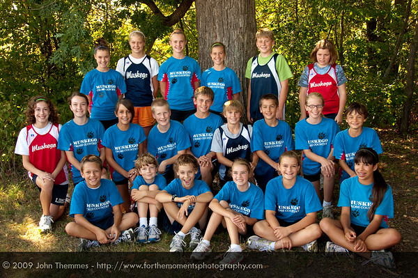 LDMS - Cross Country Team 2009