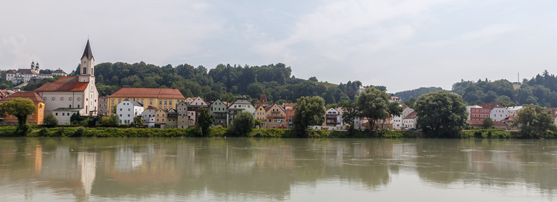 Passau from the river