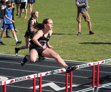 MS Track at Ritzville 4-26-21