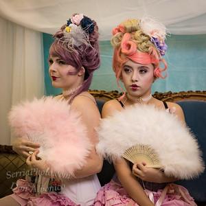 Marie Antoinette w/ Siddalee, Alina & Brianna